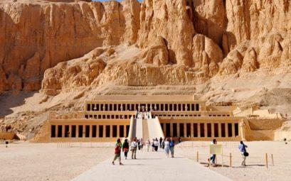 храм Хачепсут, Луксор